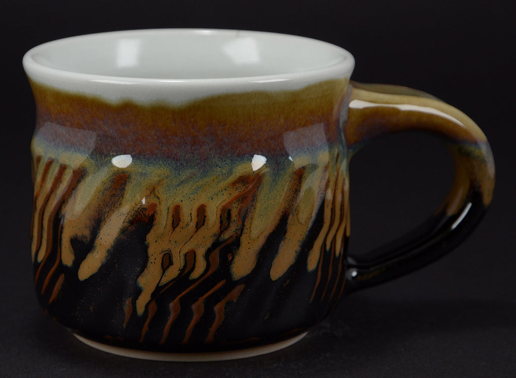 Black Signature Soup Mug
