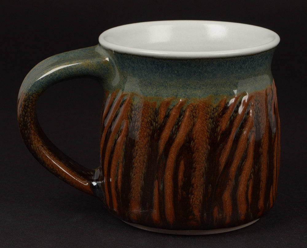 Green/Blue-Earthtones Signature Mug #8