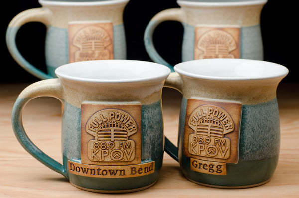 Custom logo mugs with personalization from Mug Revolution!