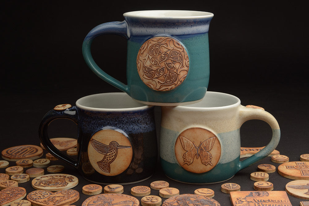 Build your custom handmade coffee mug with The Mug Builder by Mug Revolution!
