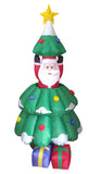 5 Foot Animated Santa Claus Pop Up from Christmas tree