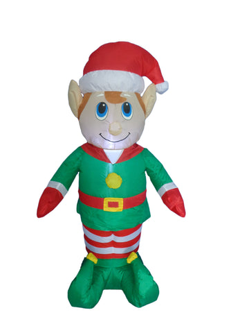4 Foot Christmas Inflatable Elf