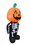 4 Foot Tall Halloween Inflatable Pumpkin Head Man Indoor Outdoor Yard Decoration