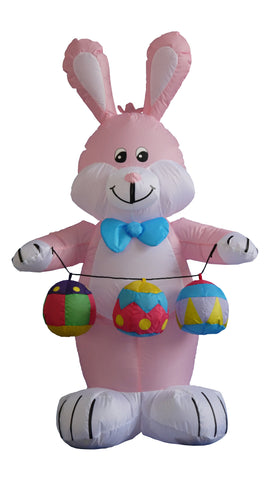 4 Foot Bunny with Eggs