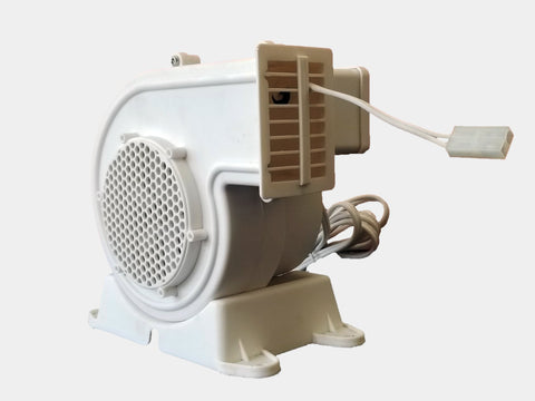 Replacement Fan/Blower with 1 Light String Connector - Model AH-2 (120V, 60Hz, 0.63A)