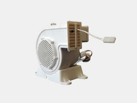 Replacement Fan Blower with 1 Light String Connector - Model AH-1 (120V, 60Hz, 0.54A)