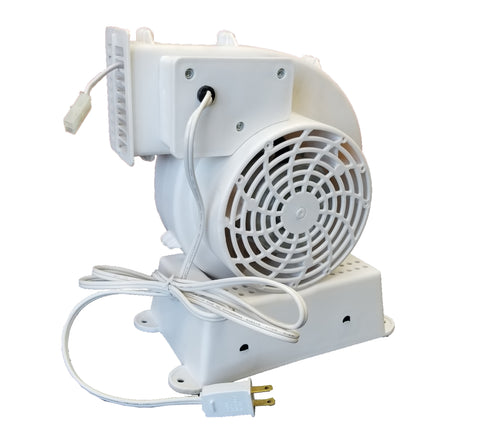 Replacement Fan Blower with 1 Light String Connector - Model AH-4 (120V, 60Hz, 1.45A)