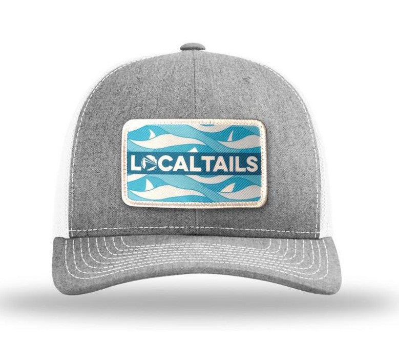 Waves and Tails Trucker Hat