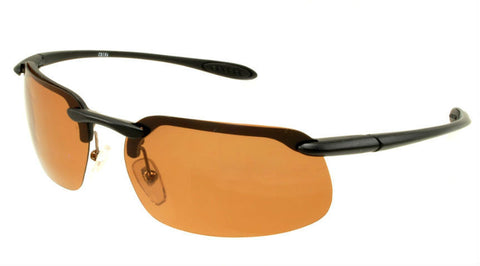 Polarized Sports Sunglasses | Black