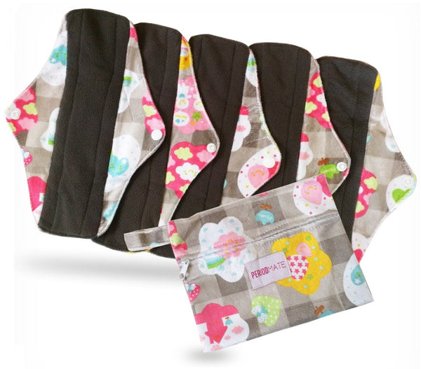 Reusable Cloth Menstrual Pads