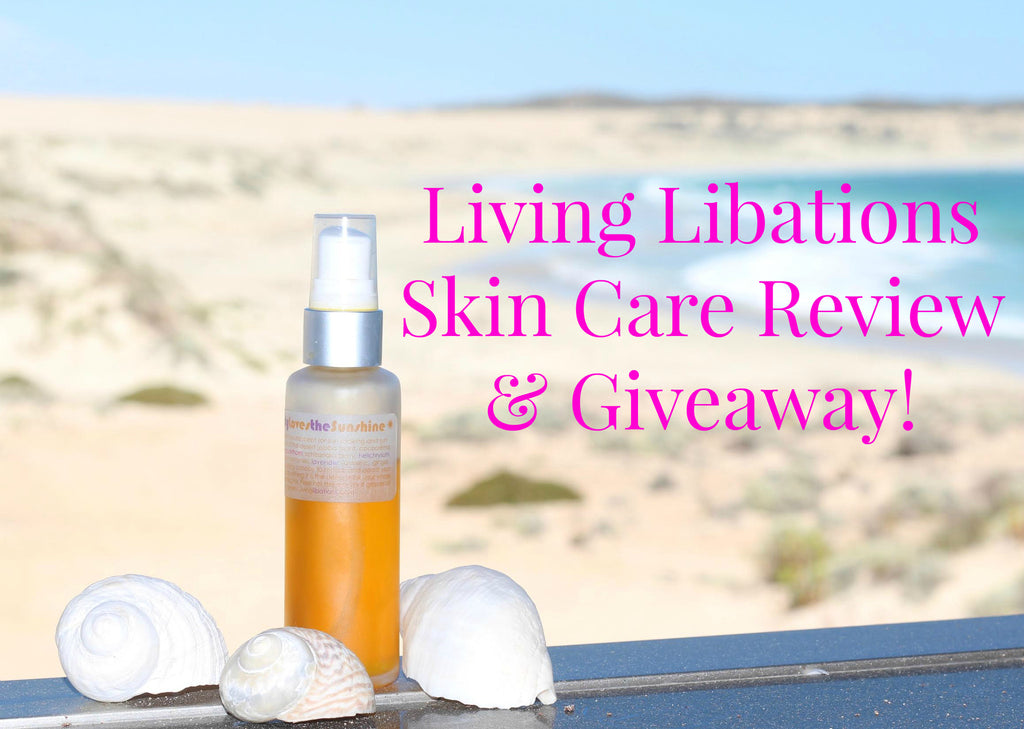 Living Libations - Everybody Loves the Sunshine Review + Competition!