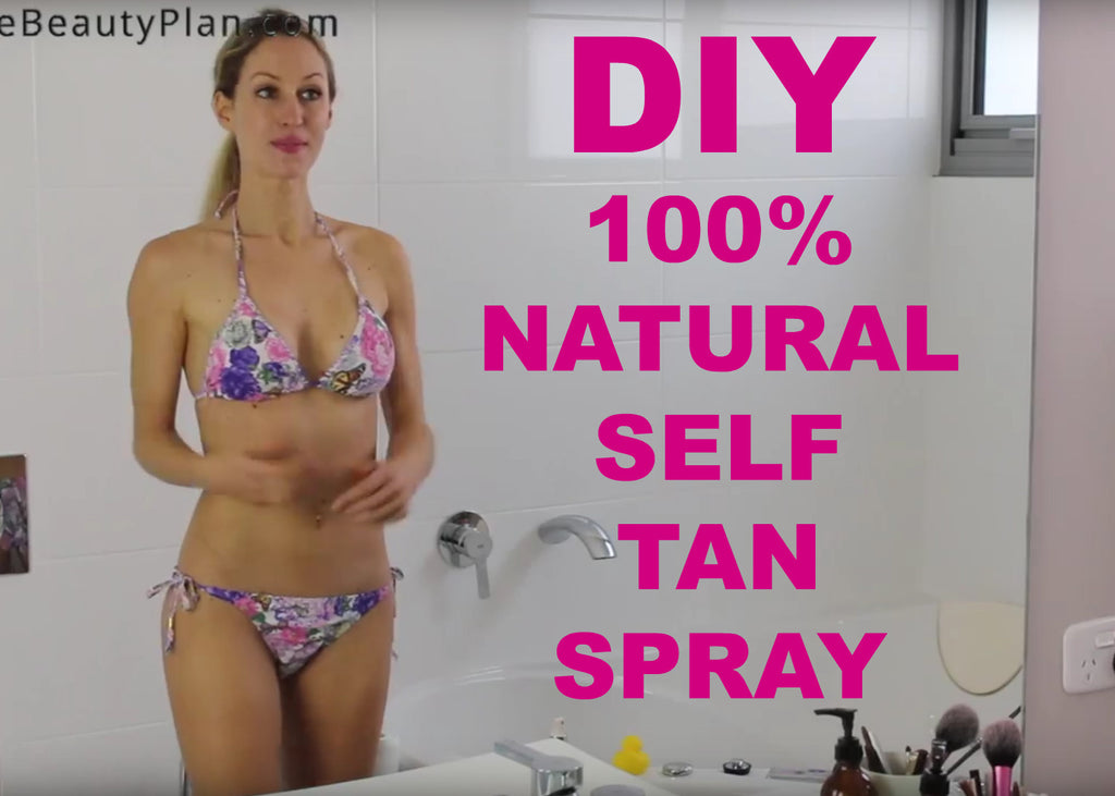 DIY Natural Tea Self Tanning Spray
