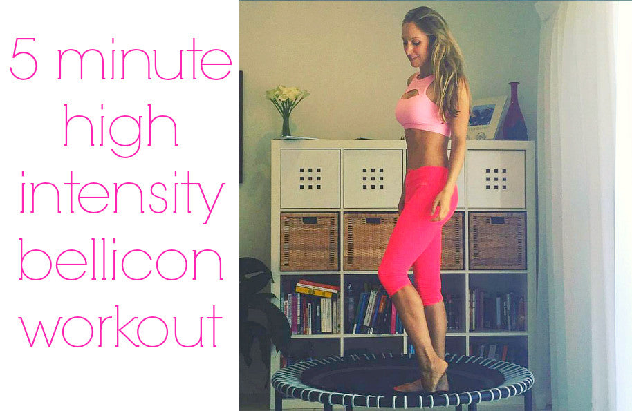 5 minute interval training bellicon workout video
