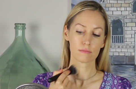 Gressa Skin Foundation review swatch tutorial green beauty