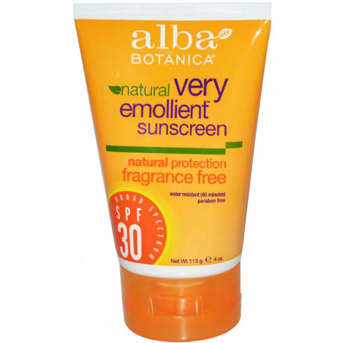 natural sunscreen review alba