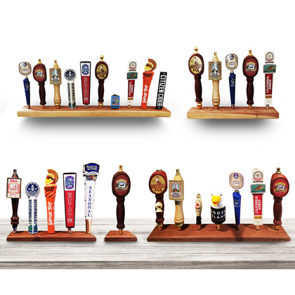 Redwood Tap Handle Displays