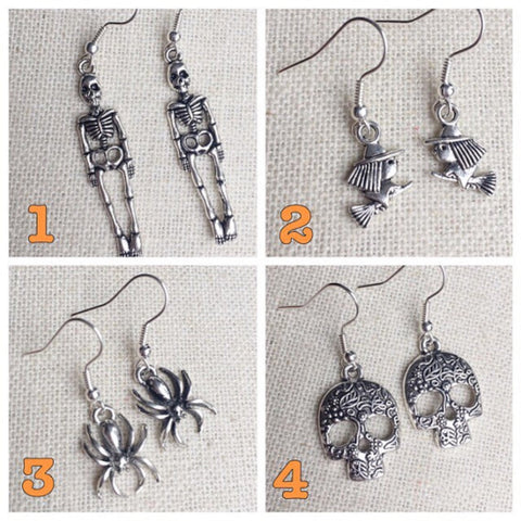 Halloween Earrings *FOUR STYLES*
