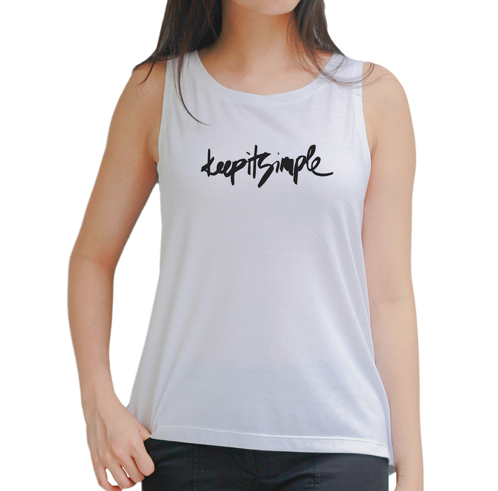 Keep it simple Tank Top