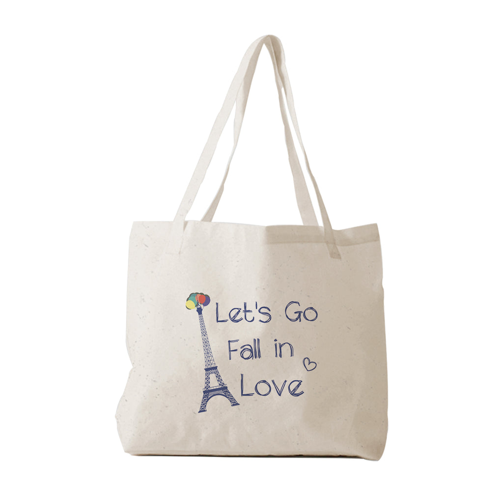 Tote Bag Let's Go Fall in Love