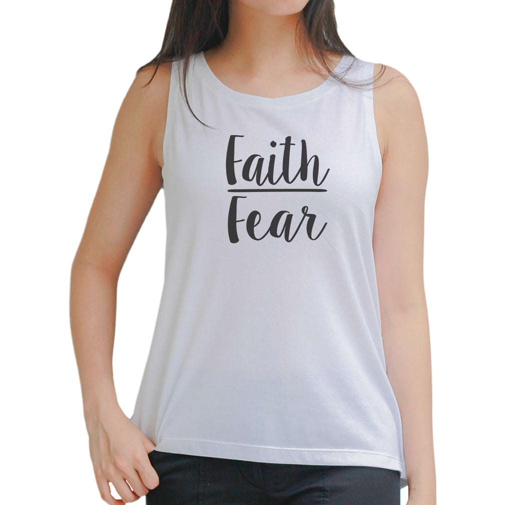 Faith Fear Tank Top
