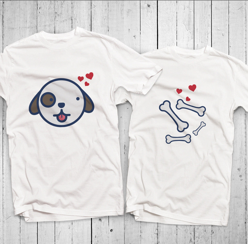 Áo đôi - Dog Couple T shirt