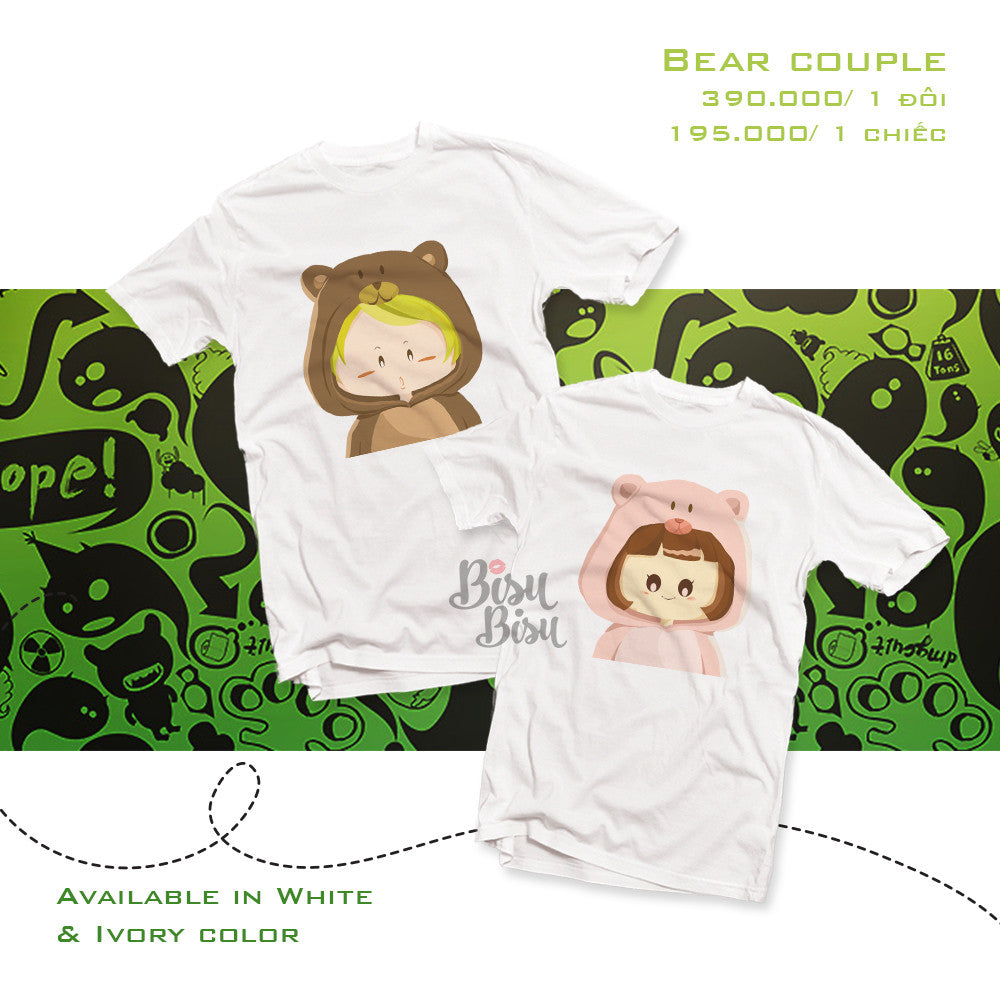 Áo đôi - Boy/Girl Couple T shirt