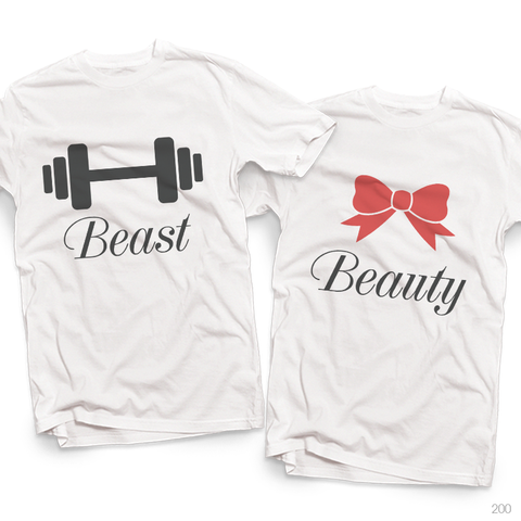 Áo đôi - Beast/Beauty Couple T shirt
