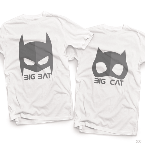 Áo đôi - Bat Mask Couple T shirt