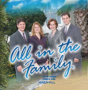 All in the Family: 07 All Hail, Immanuel - Marshall Music