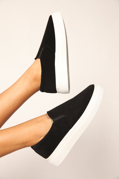Off The Wall Flatform Slip Ons