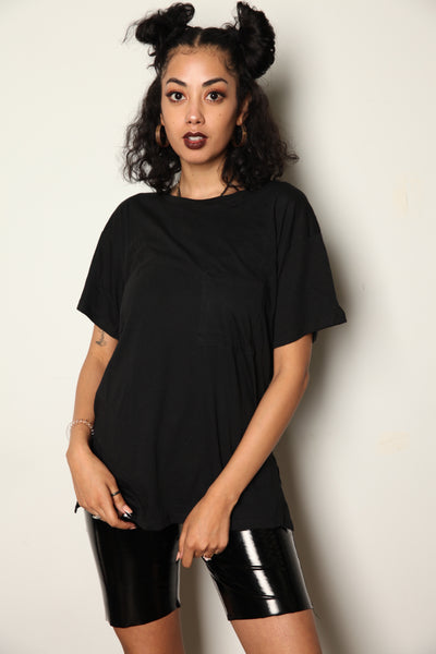 Relaxed Pocket Tee Black