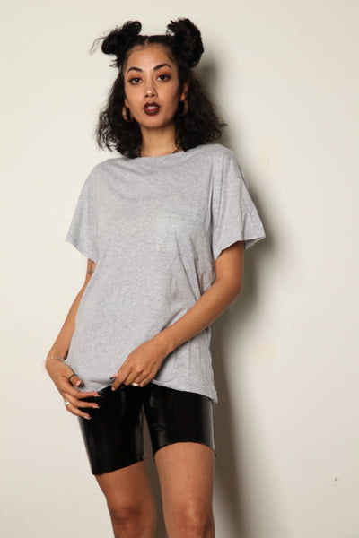 Relaxed Pocket Tee Gray