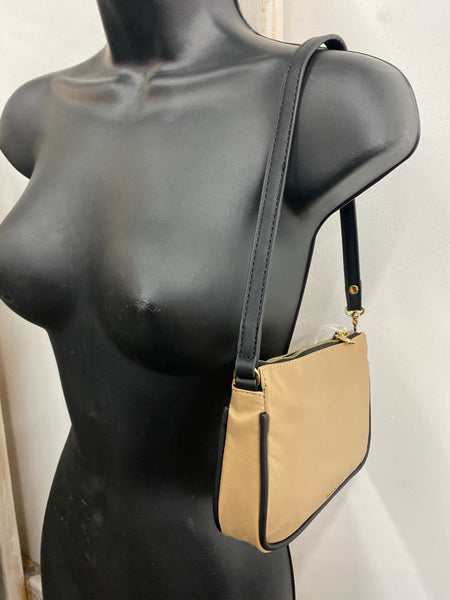 Mini Shoulder Bag Nude