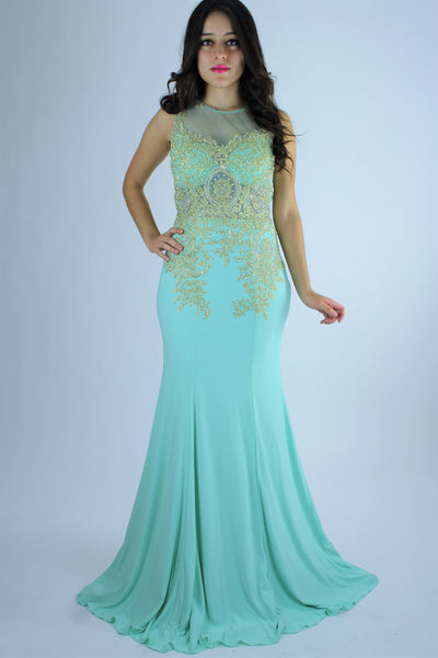 VESTIDO LARGO AN1563032 | LONG DRESS AN1563032