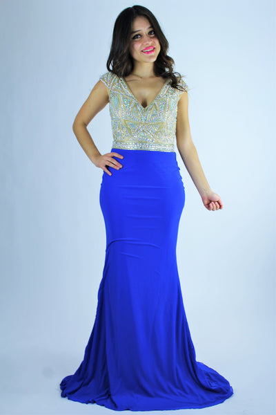 VESTIDO LARGO AN1542984 |  LONG DRESS AN1542984