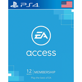 EA Access 12 Month Subscription -PS4 Digital Delivery