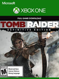 Tomb Raider Definitive edition Digital code for Xbox One