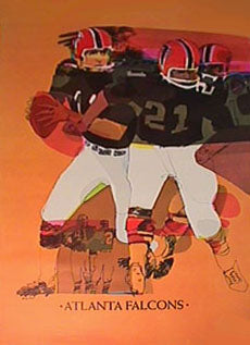 Vintage NFL Atlanta Falcons Football 1968