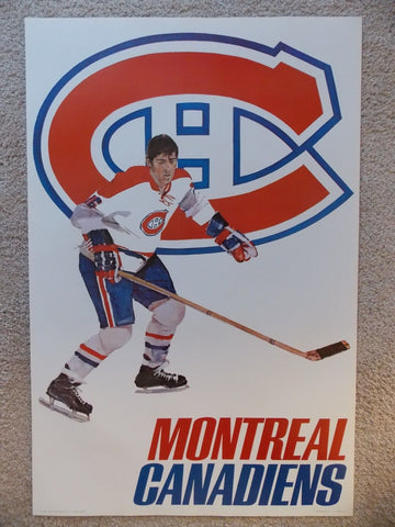 Lot of Vintage NHL Posters 1968 - 1972  ORIGINALS