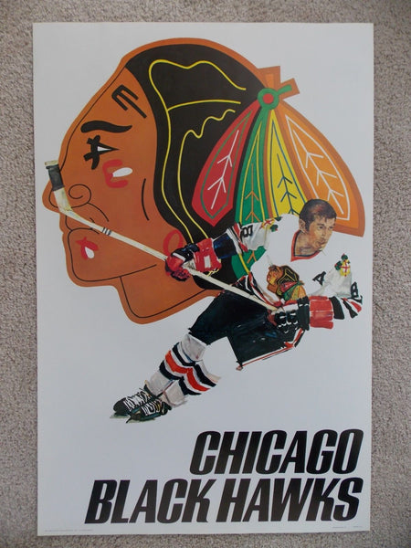 NHL Posters - Chicago Black Hawks