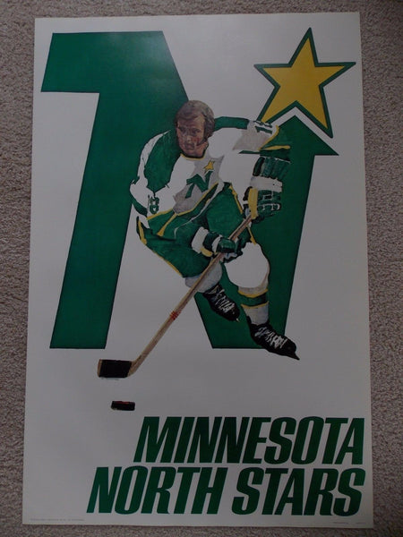 NHL Posters - Minnesota North Stars