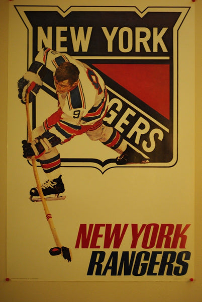 NHL Posters - New York Rangers