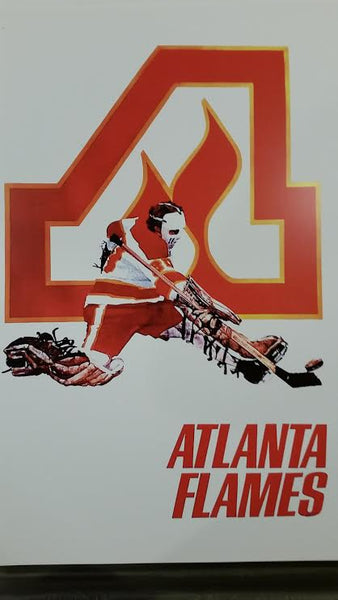 NHL Posters - Atlanta Flames