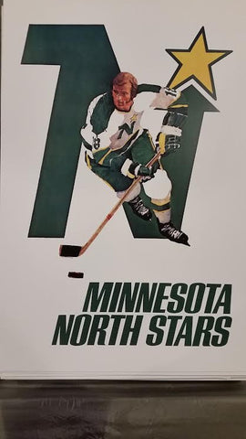 Lot of Vintage NHL Posters 1968 - 1972  All 16 13 x 19 Reproductions
