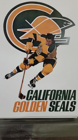 NHL Posters - California Golden Seals