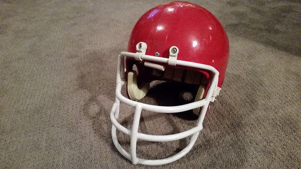 Vintage Riddell Red Football Helmet
