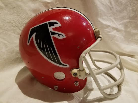 Vintage Riddell Atlanta Falcons Football Helmet