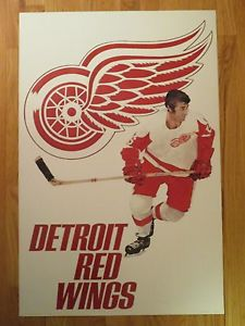 NHL Posters - Detroit Red Wings