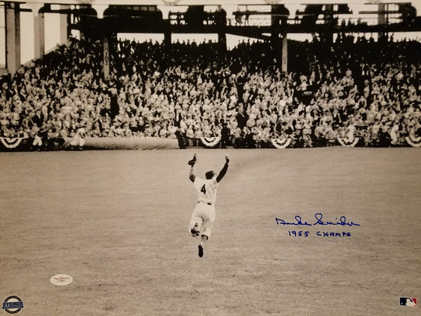 Duke Snider Brooklyn Dodgers 1955 Champs 16 x 20