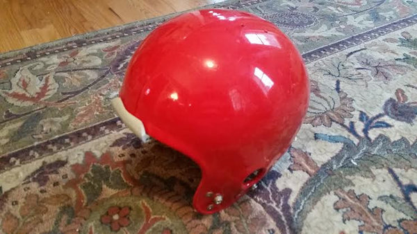 Vintage Medalist - Gladiator Red Football Helmet Jan 1976